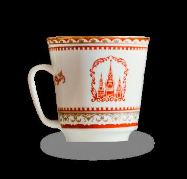 Porzellan Tasse mit orientalischem Muster